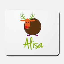 Alisa the Reindeer Mousepad