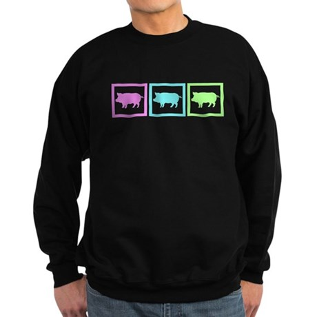 Pig Squares Sweatshirt (dark)