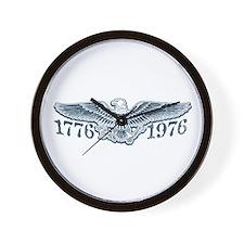 Vintage Bicentennial 1776 Wall Clock
