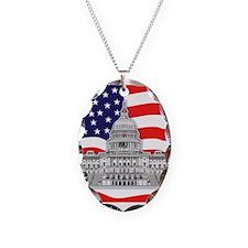 US Capitol Building Necklace