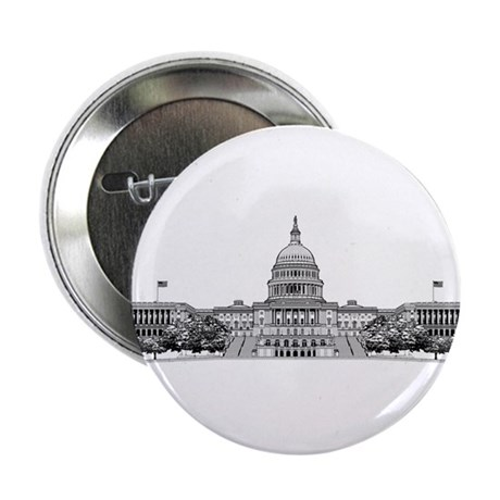 "U.S. Capitol Building Art 2.25"" Button (100 pack)"