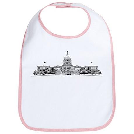 U.S. Capitol Building Art Bib