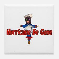 The Hurricane Voodoo Doll Tile Coaster