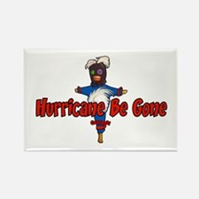 The Hurricane Voodoo Doll Rectangle Magnet