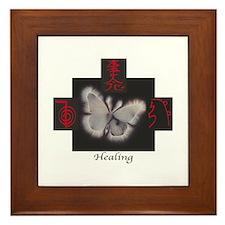 Reiki Healing Trinity Framed Tile