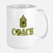 Soccer Coach - Drill Sergeant Large Mug