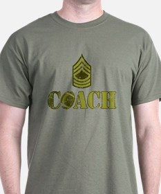 Football Coach - Sergeant Stripes T-Shirt