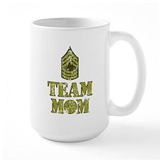 Basketball Team Mom - Sergeant Stripes Mug