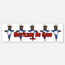 The Hurricane Voodoo Doll Bumper Bumper Bumper Sticker