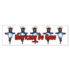 The Hurricane Voodoo Doll Bumper Bumper Sticker
