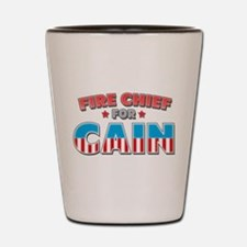 Fire chief for Cain Shot Glass