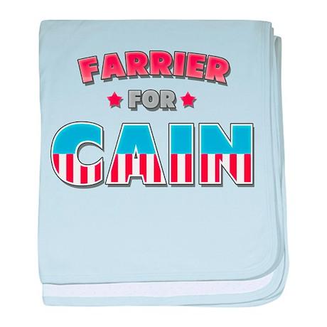Farrier for Cain baby blanket