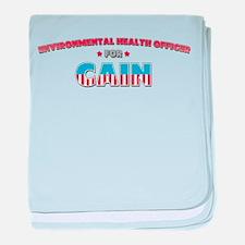 Environmental Health Officer baby blanket