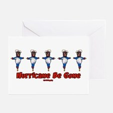 The Hurricane Voodoo Doll Greeting Cards (Package
