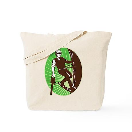 arborist tree surgeon Tote Bag