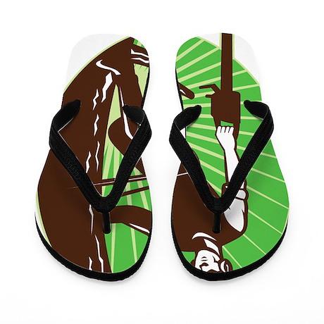 arborist tree surgeon Flip Flops