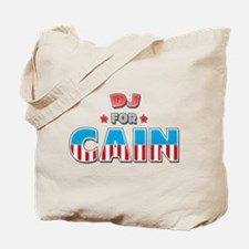 DJ for Cain Tote Bag