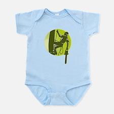 arborist tree surgeon Infant Bodysuit