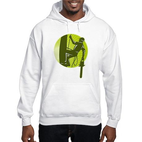 arborist tree surgeon Hooded Sweatshirt