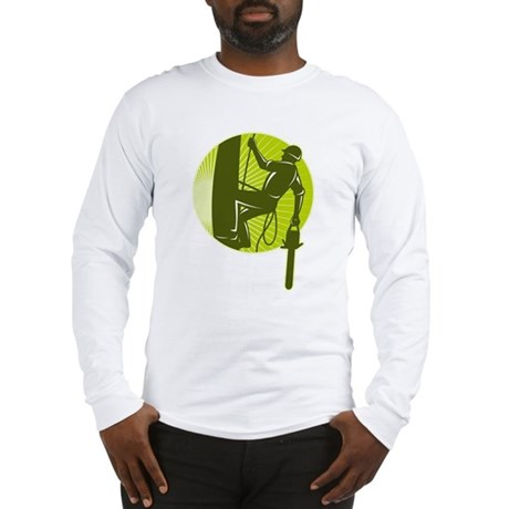 arborist tree surgeon Long Sleeve T-Shirt