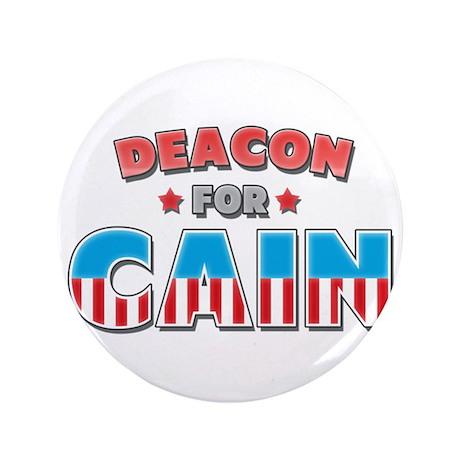 """Deacon for Cain 3.5"""" Button"""