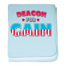 Deacon for Cain baby blanket