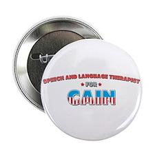 "Speech and Language Therapist 2.25"" Button"