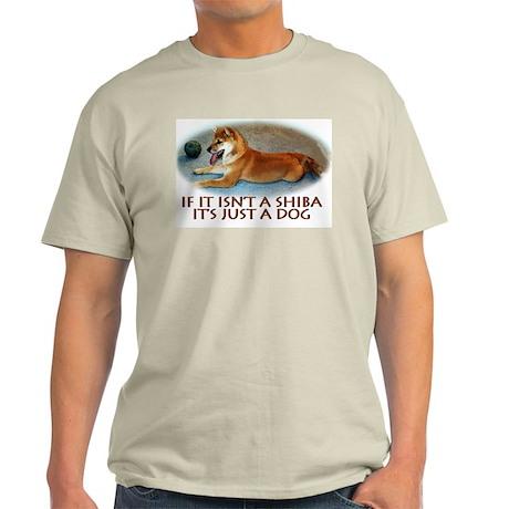 shiba inu just a dog Ash Grey T-Shirt
