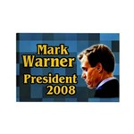 Mark Warner for President Campaign Magnet