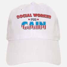 Social worker for Cain Baseball Baseball Cap