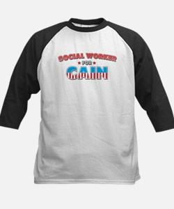 Social worker for Cain Tee