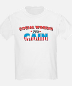 Social worker for Cain T-Shirt