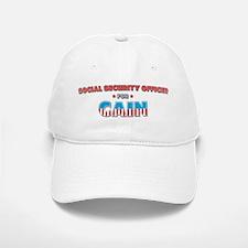 Social security officer for C Baseball Baseball Cap