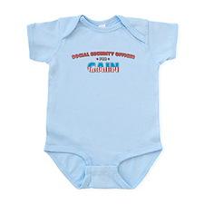 Social security officer for C Infant Bodysuit
