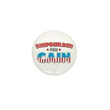Shipbuilder for Cain Mini Button (100 pack)