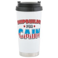 Shipbuilder for Cain Travel Mug