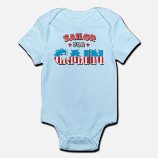 Sailor for Cain Infant Bodysuit