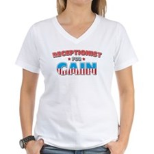 Receptionist for Cain Shirt