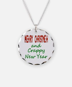 Anti-Christmas Message Necklace