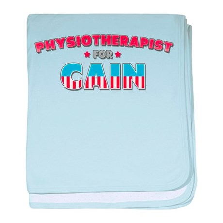 Physiotherapist for Cain baby blanket