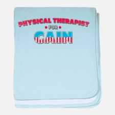 Physical therapist for Cain baby blanket
