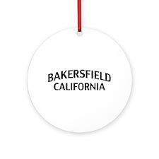 Bakersfield California Ornament (Round)