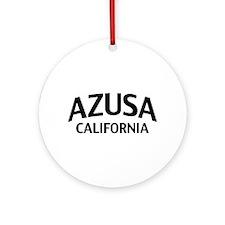 Azusa California Ornament (Round)