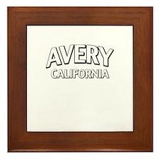 Avery California Framed Tile