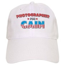 Photographer for Cain Baseball Cap