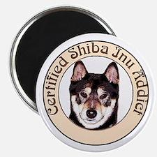 Shiba Inu Addict sable Magnet