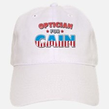 Optician for Cain Baseball Baseball Cap