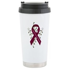 Aneurysm Awareness Ribb Travel Mug