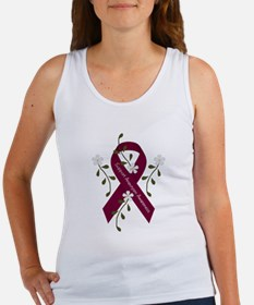 Aneurysm Awareness Ribbon Women's Tank Top