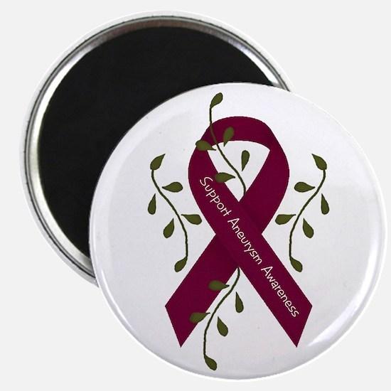 """Aneurysm Awareness Ribbon (Me 2.25"""" Magnet (1"""